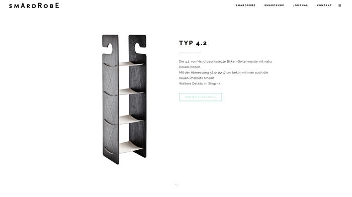 Smardrobe Startpage